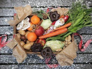 Healthy food and Christmas snacks
